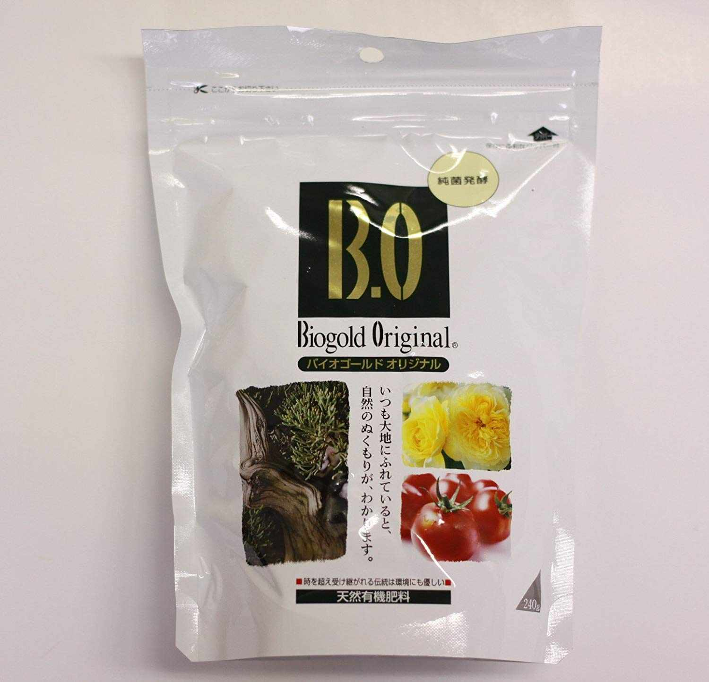 BioGold - Abono granular para bonsáis, para verano, original japonés, NPK 5,5-6,5-3,5 (240 g)